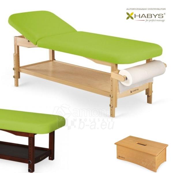 Procedūrinė lova HABYS Nova VF Lime Paveikslėlis 1 iš 1 310820200056