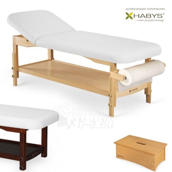Procedūrinė lova HABYS Nova VF White Paveikslėlis 1 iš 1 310820200050