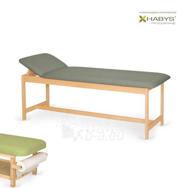 Procedūrinė lova Habys Primo ST Gray Paveikslėlis 1 iš 2 310820200061