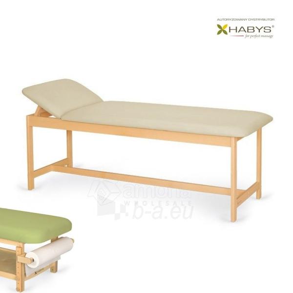 Procedūrinė lova Habys Primo WF Beige Paveikslėlis 1 iš 2 310820200046