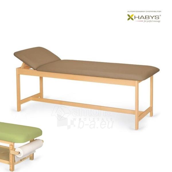 Procedūrinė lova Habys Primo WF Brown Paveikslėlis 1 iš 2 310820200037