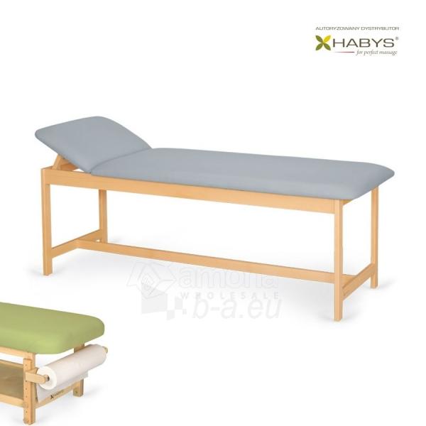 Procedūrinė lova Habys Primo WF Gray Paveikslėlis 1 iš 2 310820200049