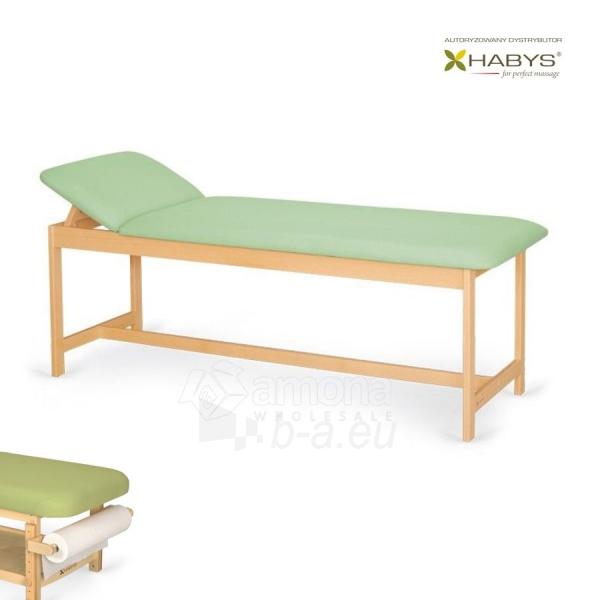 Procedūrinė lova Habys Primo WF Pistacija Paveikslėlis 1 iš 2 310820200004