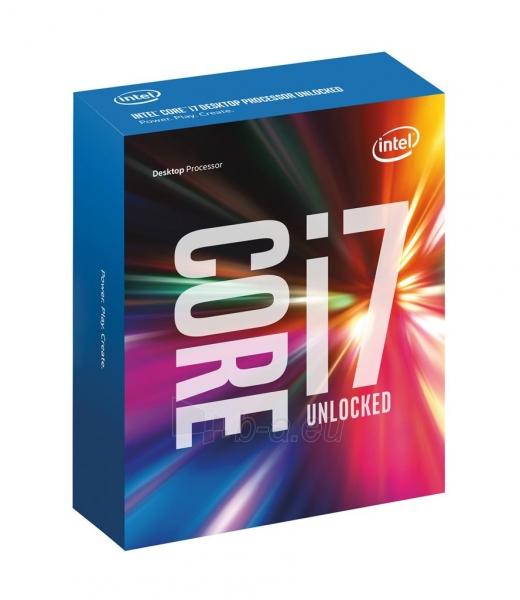 Procesorius Intel Core i7-6700K, Quad Core, 4.00GHz, 8MB, LGA1151, 14nm, 95W, VGA, BOX Paveikslėlis 1 iš 1 310820015980