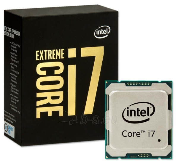 Procesorius Intel Core i7-6950X Extreme Edition, Deca Core, 3.0GHz, 25MB,LGA2011-V3,14nm,BOX Paveikslėlis 1 iš 1 310820023505