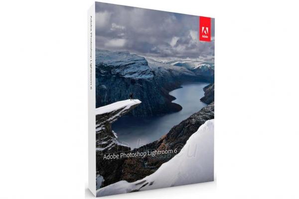 Programinė įranga Adobe Lightroom v6, Mul. Platf., EU English, Retail, 1 User Paveikslėlis 1 iš 1 310820015623