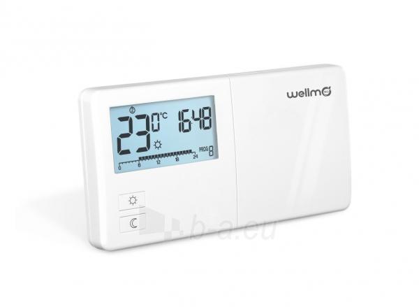 Programuojamas elektroninis termoreguliatorius Wellmo WTH25.08 Paveikslėlis 1 iš 2 310820039240