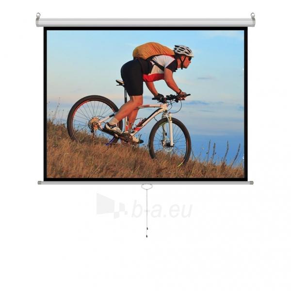 Projektoriaus ekranas ART manual display semi-automat 4:3 120 244x183cm MS-120 4:3 Paveikslėlis 1 iš 11 310820101802