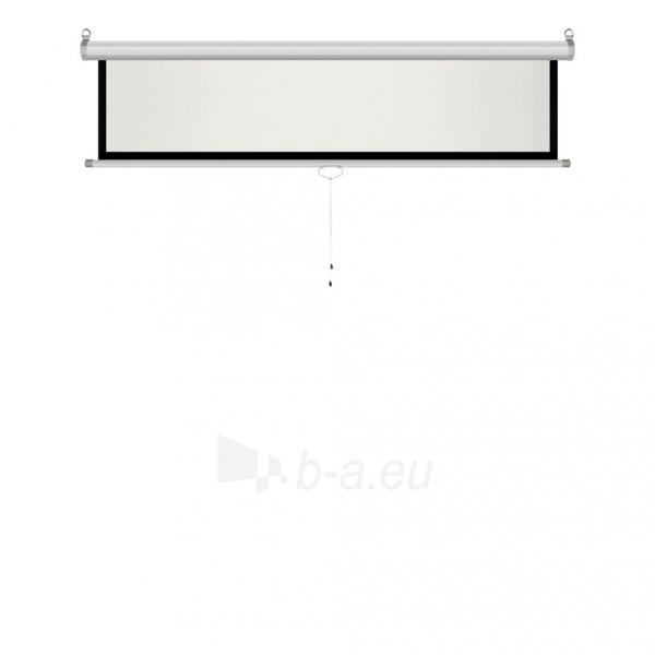 Projektoriaus ekranas ART manual display semi-automat 4:3 120 244x183cm MS-120 4:3 Paveikslėlis 7 iš 11 310820101802