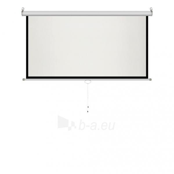 Projektoriaus ekranas ART manual display semi-automat 4:3 120 244x183cm MS-120 4:3 Paveikslėlis 6 iš 11 310820101802