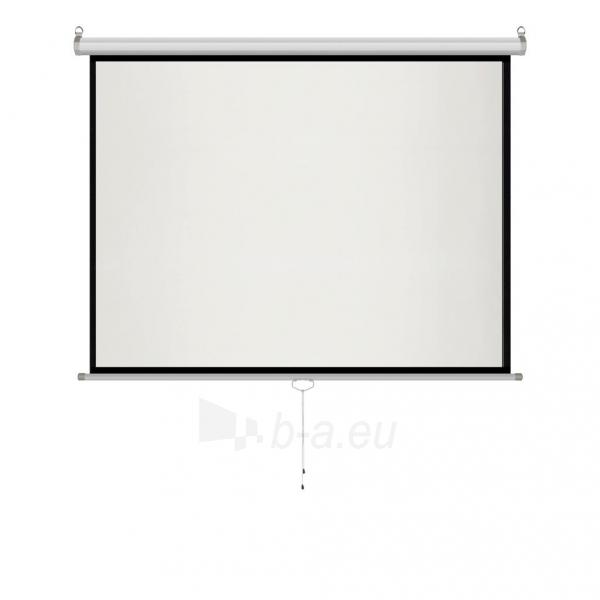 Projektoriaus ekranas ART manual display semi-automat 4:3 120 244x183cm MS-120 4:3 Paveikslėlis 5 iš 11 310820101802