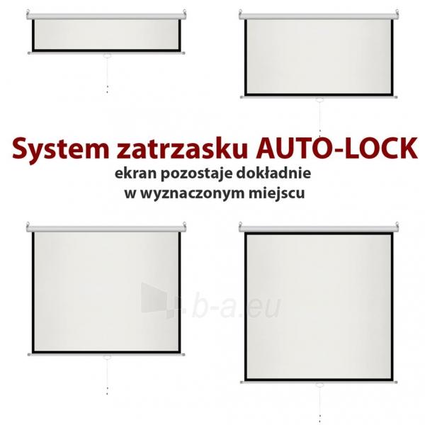 Projektoriaus ekranas ART manual display semi-automat 4:3 120 244x183cm MS-120 4:3 Paveikslėlis 4 iš 11 310820101802