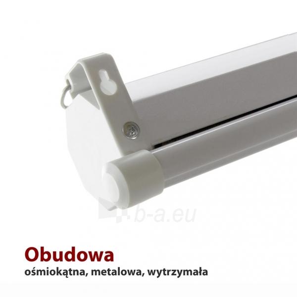 Projektoriaus ekranas ART manual display semi-automat 4:3 120 244x183cm MS-120 4:3 Paveikslėlis 3 iš 11 310820101802