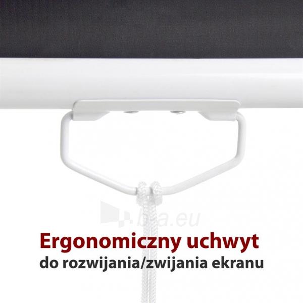 Projektoriaus ekranas ART manual display semi-automat 4:3 120 244x183cm MS-120 4:3 Paveikslėlis 2 iš 11 310820101802