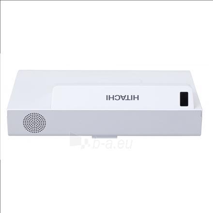 Hitachi CPAX2505-EU 3LCD XGA/4:3/1024x768/2700Lm/10,000:1/Digital Zoom x1.35/Lamp 5000-10000h/HDMIx2,USBx3,RCA/16Wx1 Speaker/White Paveikslėlis 3 iš 3 310820004948