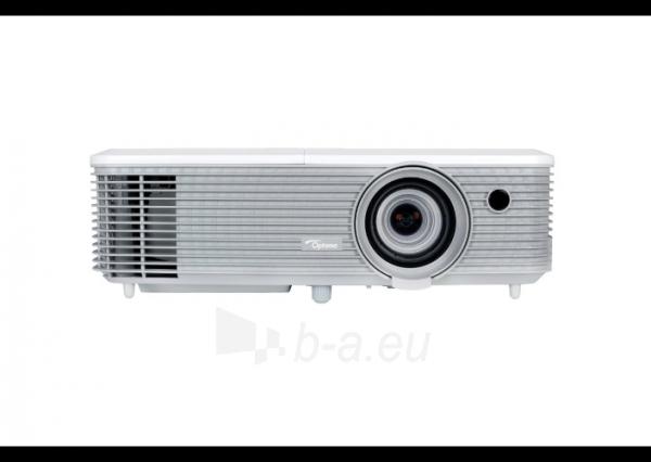 Projektorius Optoma EH400 (DLP, 4000 ANSI, 1080p Full HD, 22 000:1) Paveikslėlis 1 iš 5 310820094481