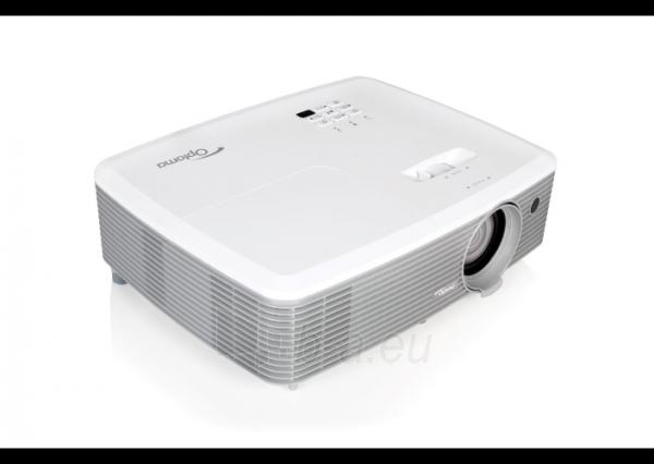 Projektorius Optoma EH400 (DLP, 4000 ANSI, 1080p Full HD, 22 000:1) Paveikslėlis 2 iš 5 310820094481