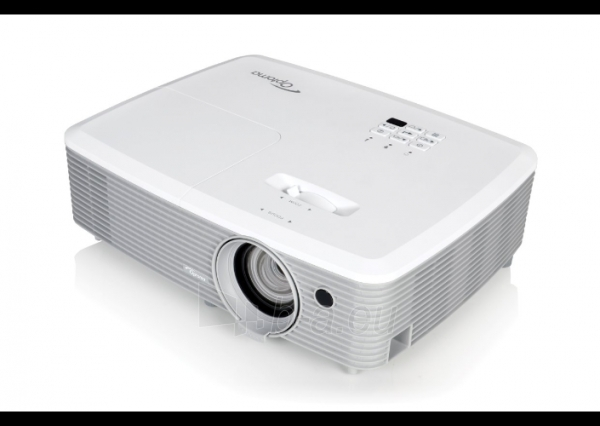 Projektorius Optoma EH400 (DLP, 4000 ANSI, 1080p Full HD, 22 000:1) Paveikslėlis 3 iš 5 310820094481
