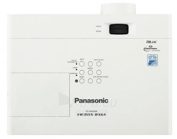 Projektorius Panasonic PT-VW355NEJ (4000 ANSI, WXGA, 10,000:1; WiDi and Miracast Paveikslėlis 3 iš 3 250224001178