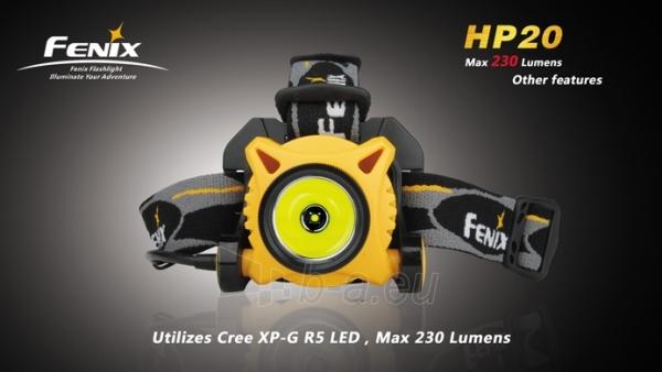 Prožektorius Fenix HP20 R5 Paveikslėlis 1 iš 1 224140000064