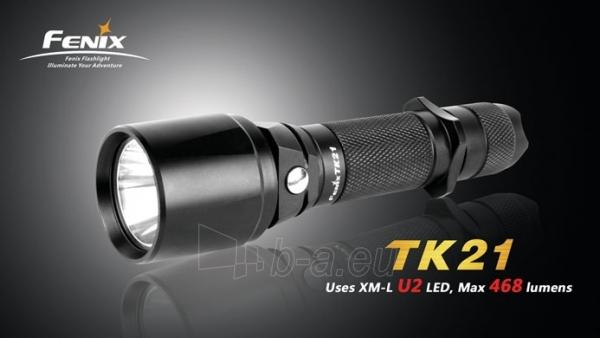 Prožektorius Fenix TK21 Tactical U2 XM-L Paveikslėlis 1 iš 1 224140000059