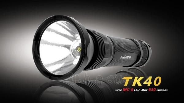 Prožektorius Fenix TK40 Cree MC-E LED Paveikslėlis 1 iš 1 224140000089
