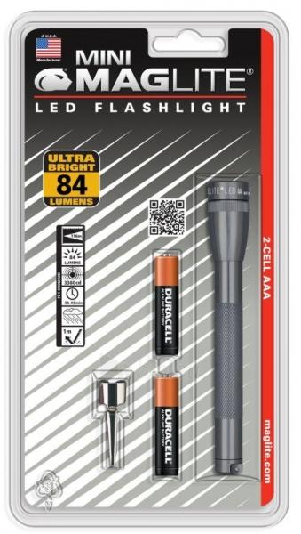 Prožektorius Mini Maglite LED AAA, 2xR3 Paveikslėlis 1 iš 1 224140000213