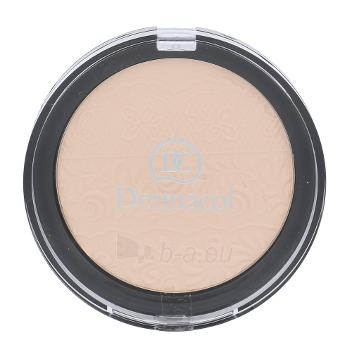 Pudra Dermacol Compact Powder Cosmetic 8g Shade 03, For normal to mixed skin Paveikslėlis 1 iš 1 310820082854