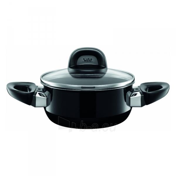 Puodas Low casserole Modesto with lid 24cm 4.4 LITR Paveikslėlis 1 iš 1 310820100836