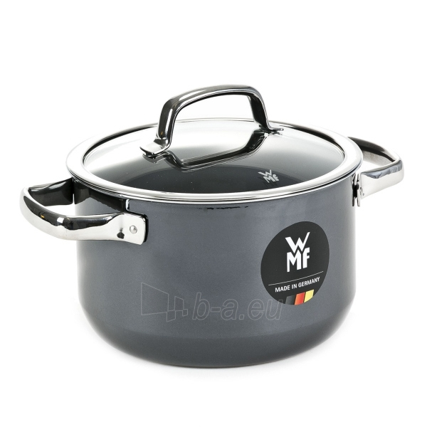 Puodas Mineral Black High casserole 20 cm 3.7 LITR Paveikslėlis 1 iš 2 310820225109