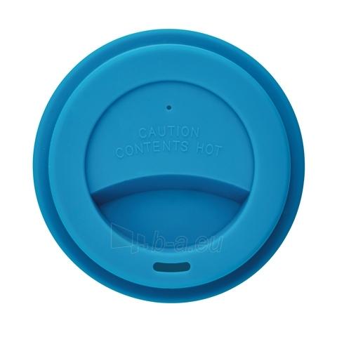 Puodelis kavai pagamintas iš perdirbtų medžiagų, mėlynas Paveikslėlis 2 iš 4 310820012690