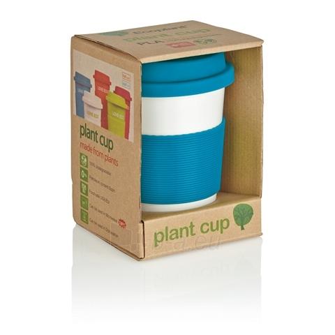 Puodelis kavai pagamintas iš perdirbtų medžiagų, mėlynas Paveikslėlis 3 iš 4 310820012690