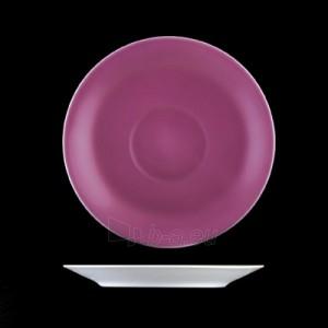 Puodelis su lėkštute 180ml ,Daisy,violetinis X8201 Paveikslėlis 2 iš 2 310820180924
