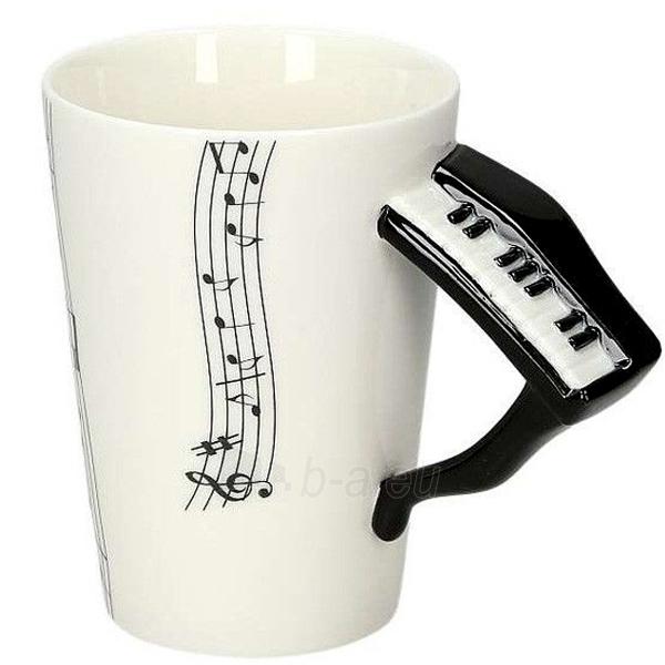 Puodelis su pianino formos rankena Paveikslėlis 1 iš 2 251005000177