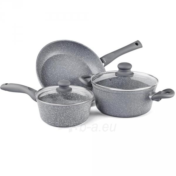 Puodų rinkinys Set of pots Stone Lamart LT1095 Paveikslėlis 1 iš 1 310820162374