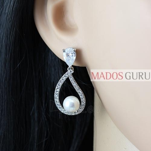Decorated earrings A1041 Paveikslėlis 2 iš 2 30070002583