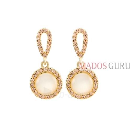 Decorated earrings A1060 Paveikslėlis 1 iš 2 30070002595