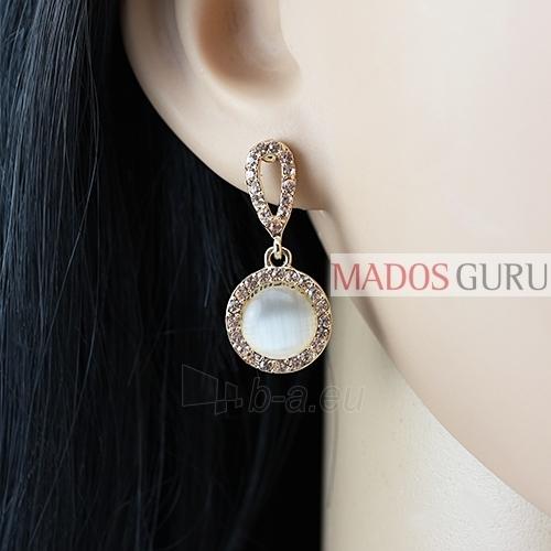 Decorated earrings A1060 Paveikslėlis 2 iš 2 30070002595