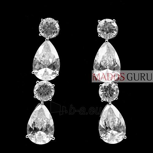 Decorated earrings A203 Paveikslėlis 1 iš 1 30070000485