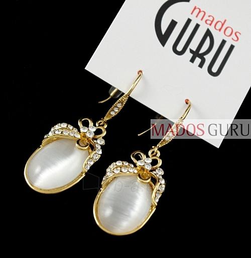 Decorated earrings A2362 Paveikslėlis 1 iš 1 30070002552