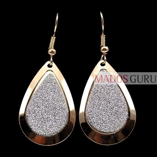 Decorated earrings A252 Paveikslėlis 1 iš 1 30070000378