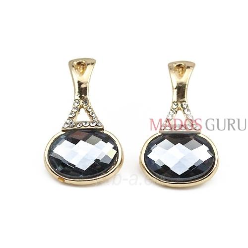 Decorated earrings A296 Paveikslėlis 1 iš 1 30070000394