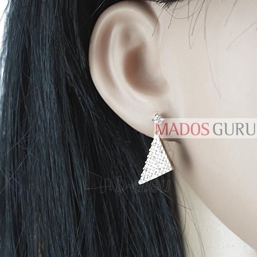 Puošnūs auskarai A364 Paveikslėlis 2 iš 2 30070000629