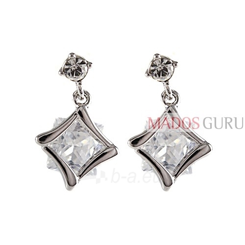 Decorated earrings A459 Paveikslėlis 1 iš 2 30070001941
