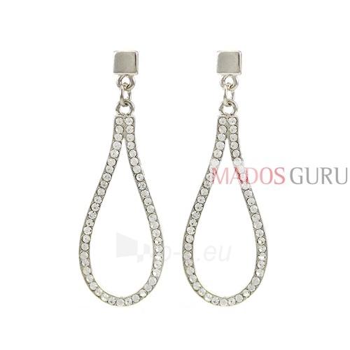 Decorated earrings A549 Paveikslėlis 1 iš 2 30070002132