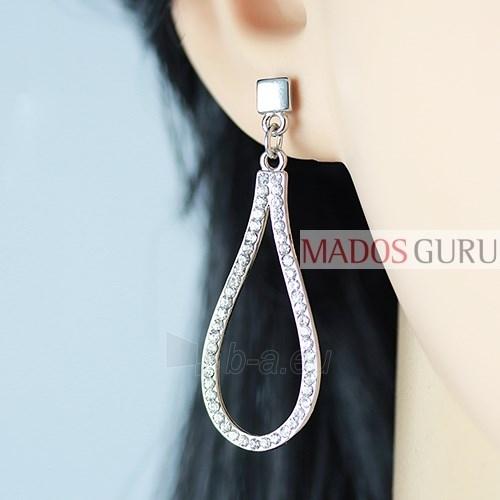Decorated earrings A549 Paveikslėlis 2 iš 2 30070002132