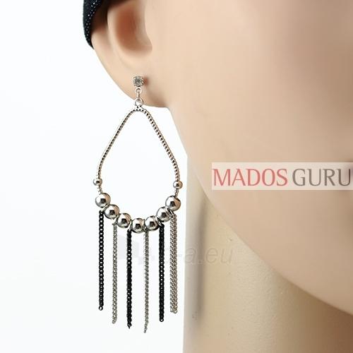 Decorated earrings A608 Paveikslėlis 2 iš 2 30070002441