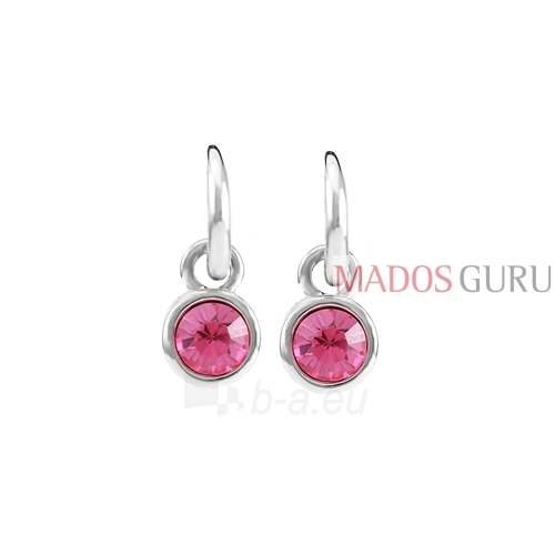 Decorated earrings A614 Paveikslėlis 1 iš 2 30070002445
