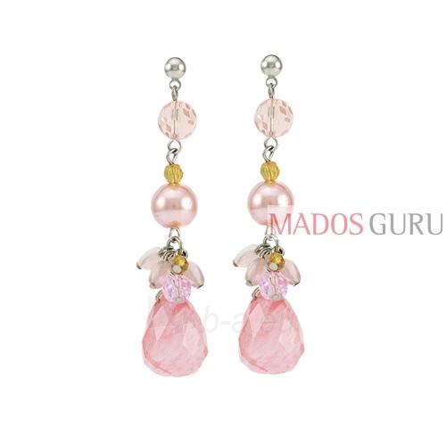 Decorated earrings A625 Paveikslėlis 1 iš 2 30070002448