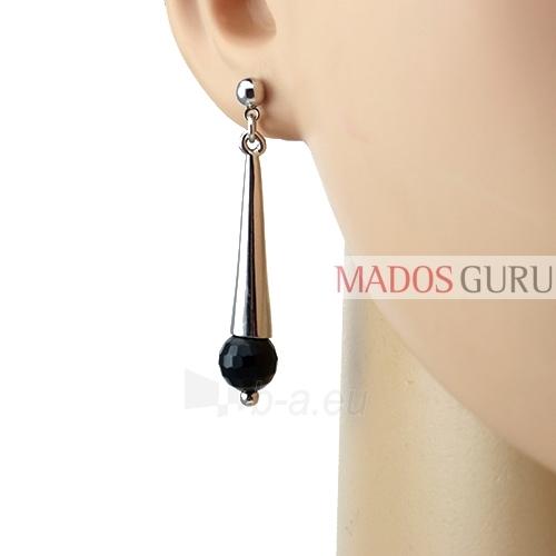 Decorated earrings A643 Paveikslėlis 2 iš 2 30070002449